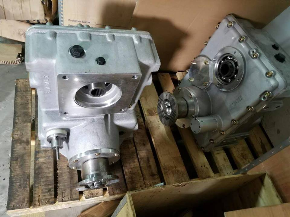 putzmeister concrete pump transfer case