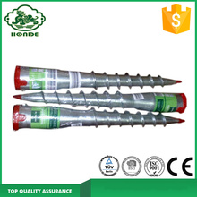 Galvanized Helix Ground Pole Screw Anchor