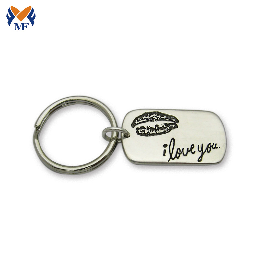 Personalized Signature Keychain