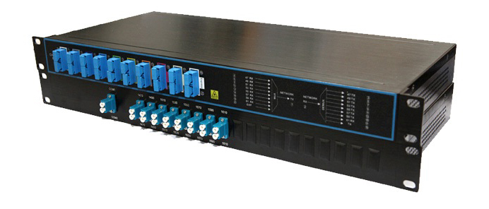 4-16 channels  rackmount CWDM MUX and DEMUX