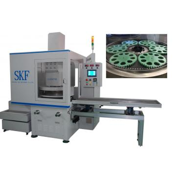 Auto component surface grinding and lapping machine