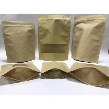 Kraft Paper Stand Up Pouch Doypack