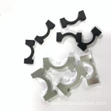 16mm Aluminum tube clips carbon tube pipe clamp