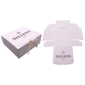 Customized Square Foldable Paper Box for Gift Packaging