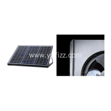Factory directly for Solar Ceiling Fan 12W Solar Powered Wireless Roof Ventilator supply to Belize Factories