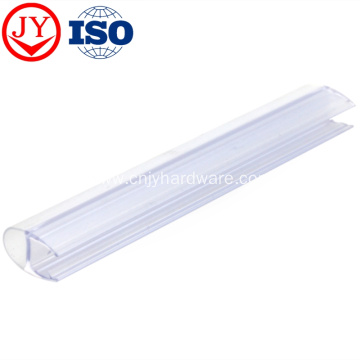 Shower glass door rubber seal strip