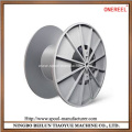 Enhanced cable reel drum rollers
