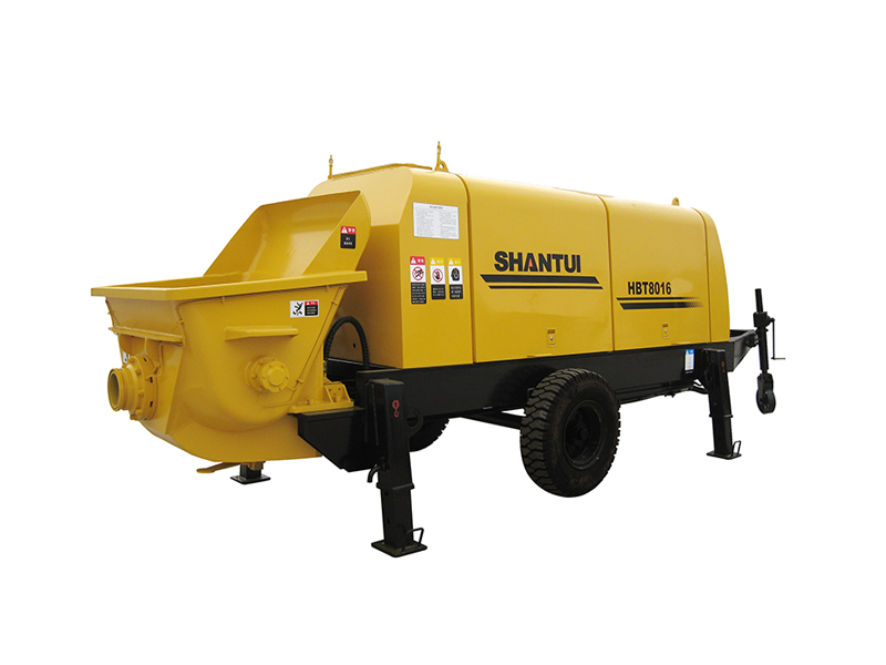 Shantui 88m3 Electric PumpTrailer Pump