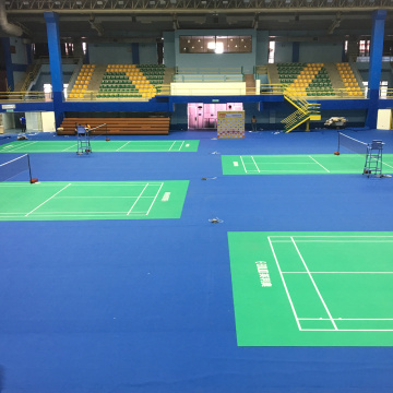 BWF certificated PVC badminton floor