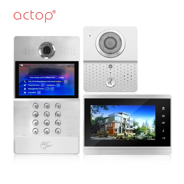 IP Apartment Intercom Video System