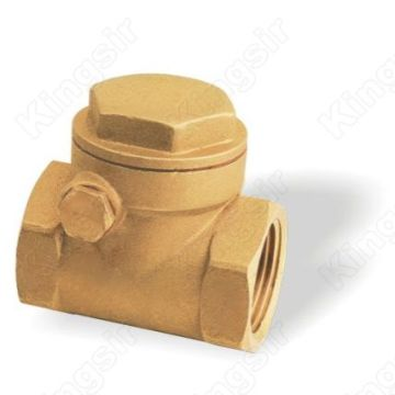 Reliable for Our Water Check Valves, Brass Sanitary Check Valves are Good Value for Money Forged Brass Swing Check Valve For CW617 export to Mozambique Exporter
