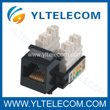 Low MOQ for Rj45 Keystone Jack Cat.5e Cat6 RJ45 Keystone Jack UTP export to Kiribati Exporter