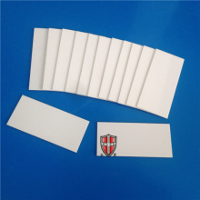 ODM for Machinable Ceramic Filter electronic supporting ceramic substrate insulation component export to Spain Exporter