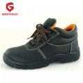 Steel Toe Leather Work Safety Shoes