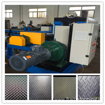 Customize dimond steel embossing machine production line suppliers
