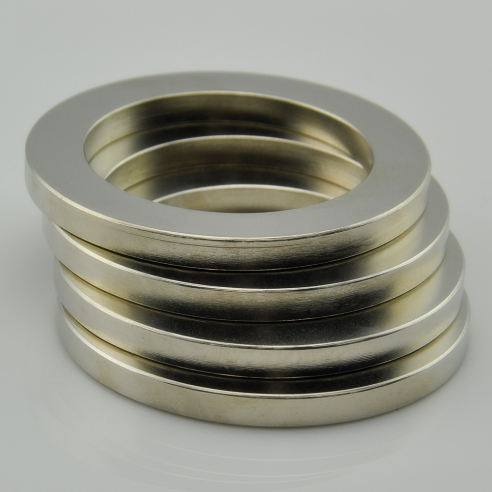 N38 rare earth large ring magnet