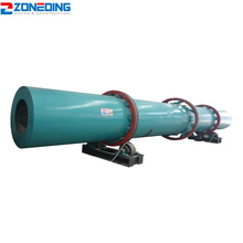 High Heat Efficiency Small Rotary Dryer Machine