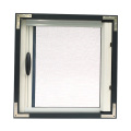 Retractable window with aluminum frame 0965