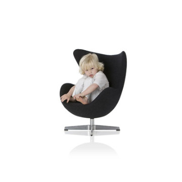 Modern replica Kids fabric egg chair for children