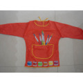 Custom Printing Plastic Children Aprons With Sleves