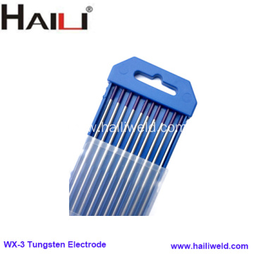 WX-3 multii-composite rare-earth wolfram electrode