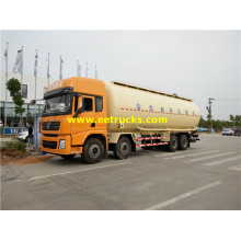 34000L 12 Wheel Pneumatic Dry Tanker Trucks