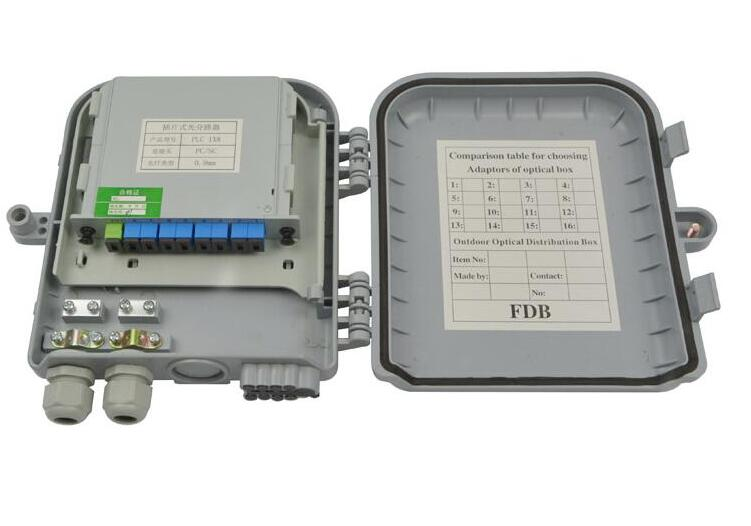 8 Port Outdoor Terminal Box