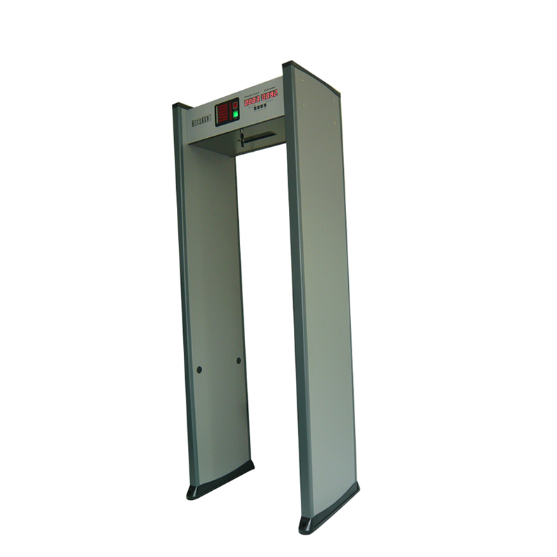 door frame walk through metal detector