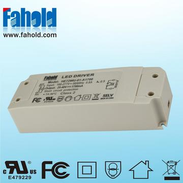 factory low price Used for Round Panel Lights Driver 277V Plastic Enclosure LED Driver supply to Poland Manufacturers