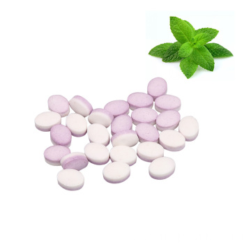Best selling portable fresh breath cool tablet stevia mint