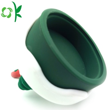 Christmas Mug Silicone Leak-Proof Cup Lid Coffee Mug