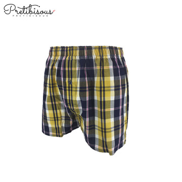 Breathable loose classic 100 cotton boxer shorts