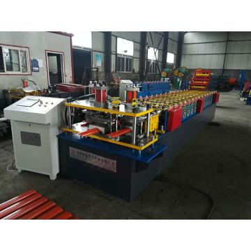 Automatic metal fence roll forming machine