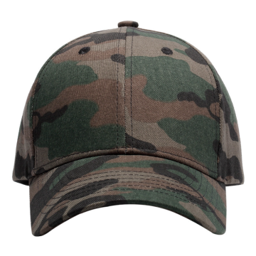 Camouflage Cotton Twill High Quality Baseball Cap