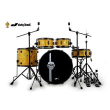 Supply for Jazz Snare Drum Birch Drum Kit For Practice supply to Colombia Factories