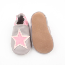 Popular Sheepskin Star Soft Leather Infant Shoes