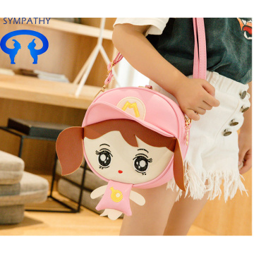 Children's bags princess style backpack