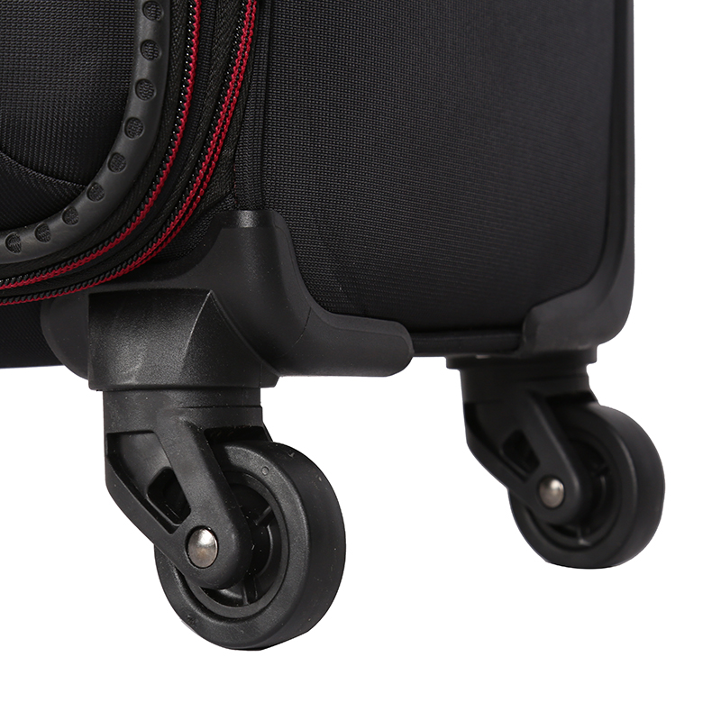 Hot-selling cloth soft fabric suitcase trolly luggage