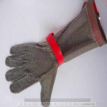 Stainless steel safety mesh gloves