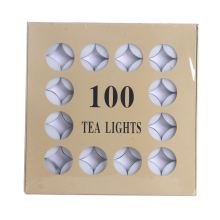 Cheap price for 100Pcs Tea Light Candles Best Price 100pcs Box Tea Light Candles supply to Ukraine Suppliers