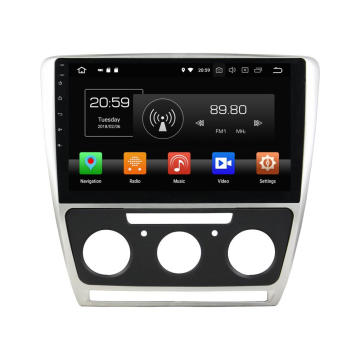car entertainment for Octavia 2010
