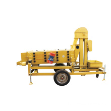 Large capacity teff grain vibro separator machine