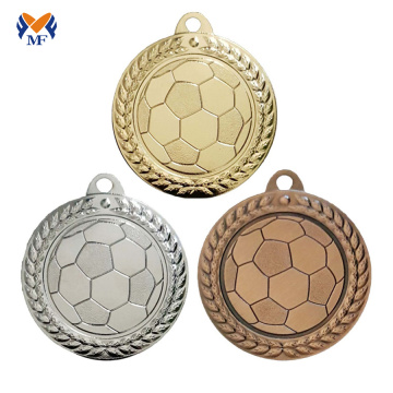 Custom school soccer medals for kids