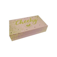 Custom Cardboard Gold Hot Stamping Box
