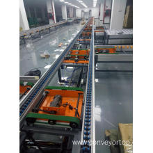 Semi-automatic Speed Chain Conveyor Line