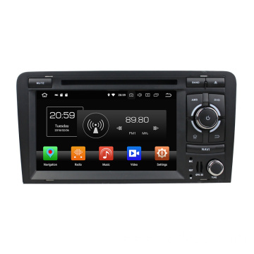 Android 8.0 car stereos for Audi A3 2003-2013