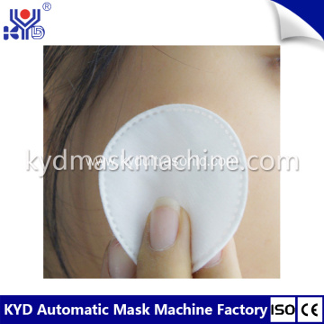 High Quality Disposable Round Cotton Pad Making Machine