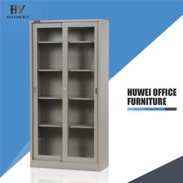 Glass door cabinets  metal sliding filing cabinets