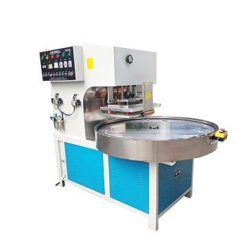 Turntable type  high frequency sealing machine