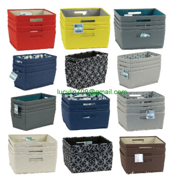 Oxford Fabric Cube Storage Bin